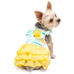 Leafy Dog Dress, dog clothes, dog dresses,  casual dog dresses, fancy dog dresses, bowwowsbest.com