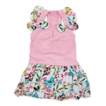 Flowy Butterfly Dog Dress, dog clothes, dog dresses,  casual dog dresses, fancy dog dresses, bowwowsbest.com