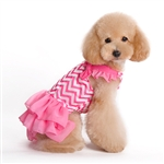 Chevron Dog Dress, dog clothes, dog dresses, dresses for dogs, casual dog dresses, fancy dog dresses, bowwowsbest.com