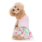 Dreamy Floral Dog Dress, dog clothes, dog dresses,  casual dog dresses, fancy dog dresses, bowwowsbest.com