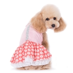 Flower Bling Dog Dress, dog clothes, dog dresses,  casual dog dresses, fancy dog dresses, bowwowsbest.com