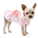 Fuzzy Purse Dog Dress, dog clothes, dog dresses, casual dog dresses, bowwowsbest.com