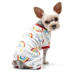 DOGO PJ Rainbow Pajamas, dog pajamas