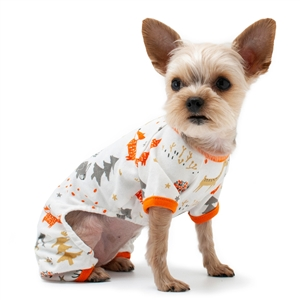DOGO PJ Winter Forest Pajamas, dog pajamas