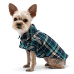 Flannel Button Down Dog Shirt, dog shirts, dog sweaters, dog winter clothing, BowWowsbest.com