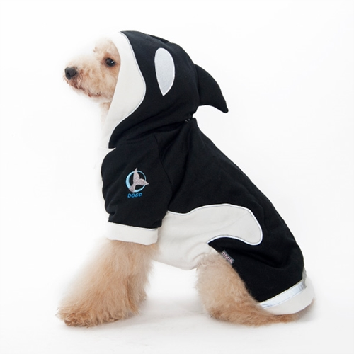 killer whale dog sweater from dog sweaters dog costumes halloween
