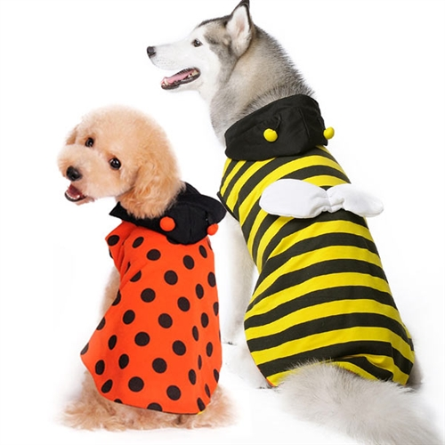 Ladybug Bumble Bee Reversible Dog Costume from BowWowsBest.com Dog Halloween attire; dog Halloween costumes ...  sc 1 st  BowWowsBest & Ladybug Bumble Bee Reversible Dog Costume from BowWowsBest.com Dog ...