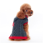 Tidy Cable Hoodie Dog Sweater