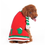 Mitten Scarf Dog Sweater, Christmas dog sweater, Christmas dog attire, Christmas dog clothes, dog sweaters, sweaters for dogs, BowWowsbest.com
