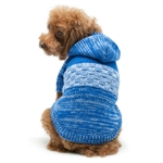 Colorblock Dog Sweater Coat, dog sweaters, dog winter apparel, dog coats