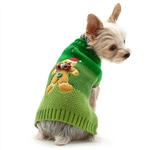 Gingerbread Man Dog Sweater, dog sweaters, Christmas Dog attire, dog winter clothing,  Large dog sweaters, BowWowsbest.com