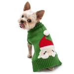 Santa Face Dog Sweater, dog sweaters, Christmas dog attire, dog winter clothing,  Large dog sweaters, BowWowsbest.com