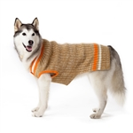 City V-Neck Dog Sweater,  dog sweaters, large dog attire, big dog clothes, large dog sweaters, sweaters for big dogs