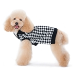 Houndstooth Dog Sweater,  dog sweaters, large dog attire, big dog clothes, large dog sweaters, sweaters for big dogs