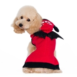 Little Devil Dog Sweater, dog sweaters, BowWowsbest.com, big dog clothes, large dog sweaters, Halloween Costumes for dogs, big dog Halloween costumes