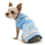 Shiny Snow Flake Dog Sweater, dog sweaters, dog winter clothing,  Large dog sweaters, BowWowsbest.com