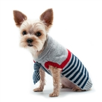 Preppy Necktie Dog Sweater, dog sweaters, dog winter clothing,  Large dog sweaters, BowWowsbest.com