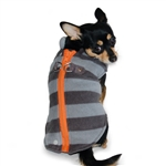 Active Fleece D-Ring Dog Coat, winter dog attire, dog coats