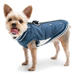 Varsity Runner Dog Coat, big dog coats