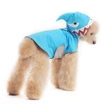 Shark Dog Raincoat