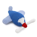 Airplane Squeaky Dog Toy