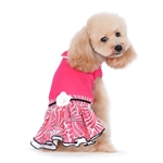 PP Lady Flower Dog Dress, dog clothes, dog dresses, dog wedding attire, casual dog dresses, fancy dog dresses, bowwowsbest.com