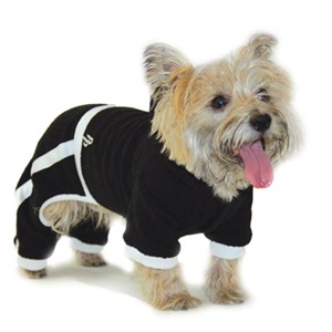 Terry Hoody Jumpsuit for Dogs from BowWowsBest.com | Dog Sweaters, Dog Winter Sweaters, Dog Clothes, Designer Dog Clothes, Dog Beds, Designer Dog Beds, Designer Dog Harness, Dog Clothing, Dog Accessories, Dog Winter Clothing,