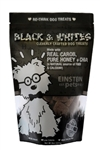 Black & White Dog Cookies, Gourmet Dog Treats