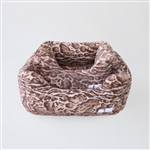Hello Doggie Deluxe Dog Bed, snuggle beds for dogs, donut beds for dogs, BowWowsbest.com, pet beds, cat beds, Hello Doggie