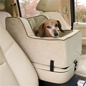 High Back Luxury Console Lookout Pet Car Seat
