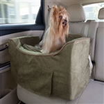 Snoozer Luxury Lookout II Dog Booster Car Seat (fits up to 25lbs)