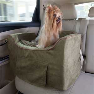 Snoozer Luxury Lookout II Dog Booster Car Seat Fits Up To 25lbs