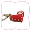 Enamel Heart Dog Collar Charm, Dog Collar Pendants