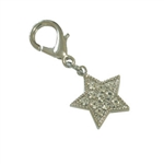 Starlet Dog Collar Charm, Dog Collar Pendants, Cat bell charms