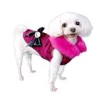 Bella Fur Dog Coat, Dog Winter Coat, dog coats, BowWowsbest.com, Poochoutfitters.com