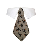 Blackie Dog Shirt Collar, Dog Bow Ties, formal attire for Dogs