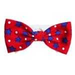 Charlie Dog Bow Tie, dog bow ties, bow ties for dogs, patriotic bow ties, Dog Clothing, Designer Dog clothing, ties for dogs, dog ties, bowwowsbest.com, poochoutfitters.com