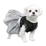 Camila Party Dog Dress, Dog Dresses, fancy dog dresses,dog formal wear, dog tuxedos, wedding dog attire, poochoutfitters.com, bowwowsbest.com