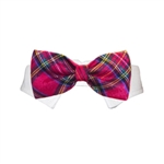 December Dog Bow Tie, dog bow ties, bow ties for dogs, dog wedding attire, dog Christmas attire