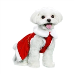 Dear Santa Dog Dress, Dog Dresses, dresses for dogs, dog costumes, dog Christmas dresses, poochoutfitters.com, bowwowsbest.com