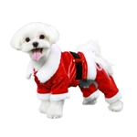 Dear Santa Dog Jumpsuit, dog Christmas attire, BowWowsbest.com, Poochoutfitters