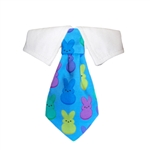 Peeps Dog Shirt Collar, Dog Bow Ties, patriotic attire for Dogs
