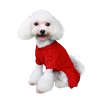 Georgia Dog Sweater Dress, dog winter sweaters, dog dresses, BowWowsbest.com, Pooch Outfitters