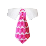 Heart Dog Shirt Collar, Dog Bow Ties, formal attire for Dogs