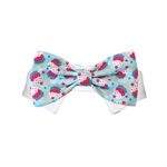 Ice Cream Dog Bow Tie, dog bow ties, dog wedding attire, dog formal wear