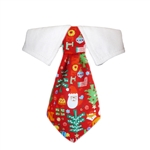 Navidad Dog Shirt Collar, Dog Bow Ties, wedding attire for Dogs