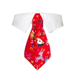 Rudolph Dog Shirt Collar, Dog Bow Ties, Christmas attire for Dogs