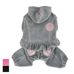Little Brats Jumpsuit for small dogs 3 to 15 pounds.