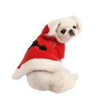Santa Dog Cape from BowWowsBest.com