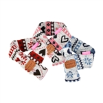Joy Dog Muffler, Dog winter apparel, dog winter scarfs